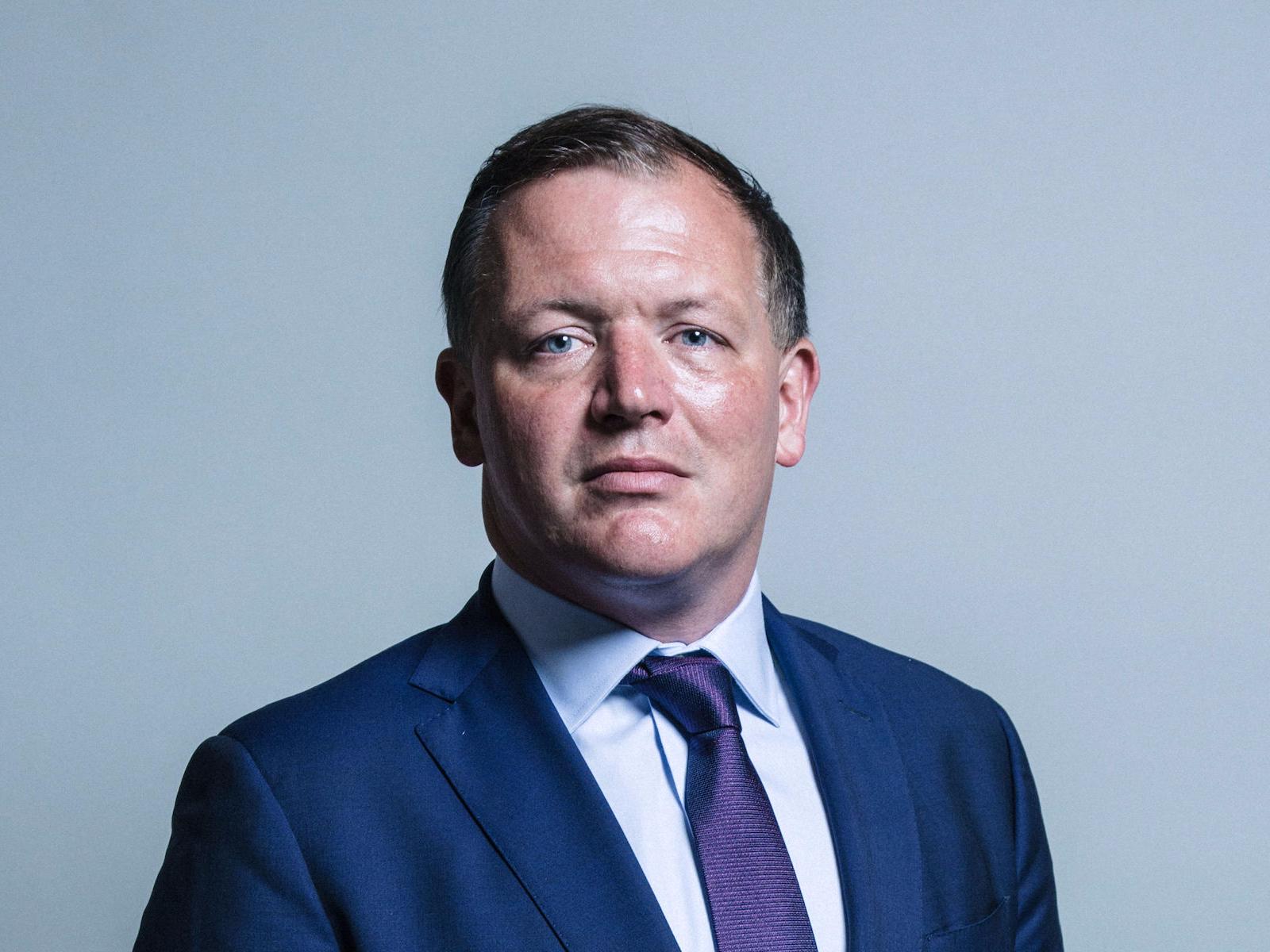 Damian Collins MP portrait