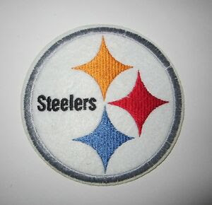 PITTSBURGH STEELERS NFL IRON ON EMBROIDERED PATCH APPLIQUE NO SEW*SHIPS FREE*USA  eBay