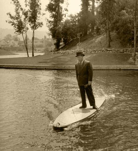 Prancha de Surf motorizada