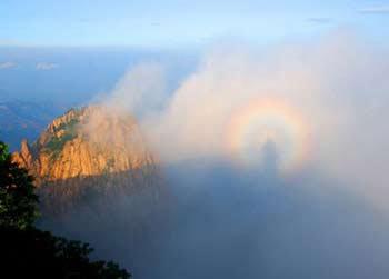 Đức Phật hiện hình trên núi Tổ Sơn