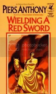 Wielding a Red Sword (Incarnations of Immortality - Book 4)