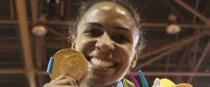 Judoca Érika Miranda conquista 1º ouro para o Brasil no Pan de Toronto: 'No País onde reina o futebol, quem manda é o judô'