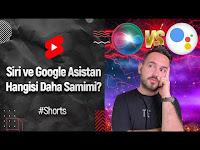 Türkçe asistanlar kapışıyor! Google Asistan vs Siri! Hangisi daha samimi? 😍 #shorts - ShiftDelete.Net