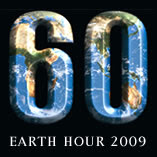 Earth Hour button