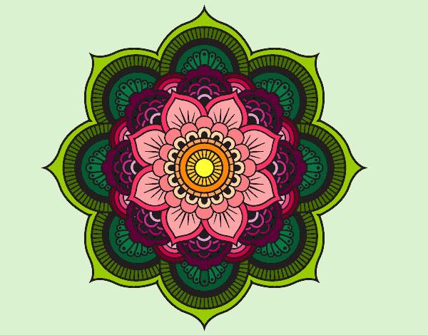 Dibujo De Flor De Loto Pintado Por Elisaseya En Dibujosnet El Día