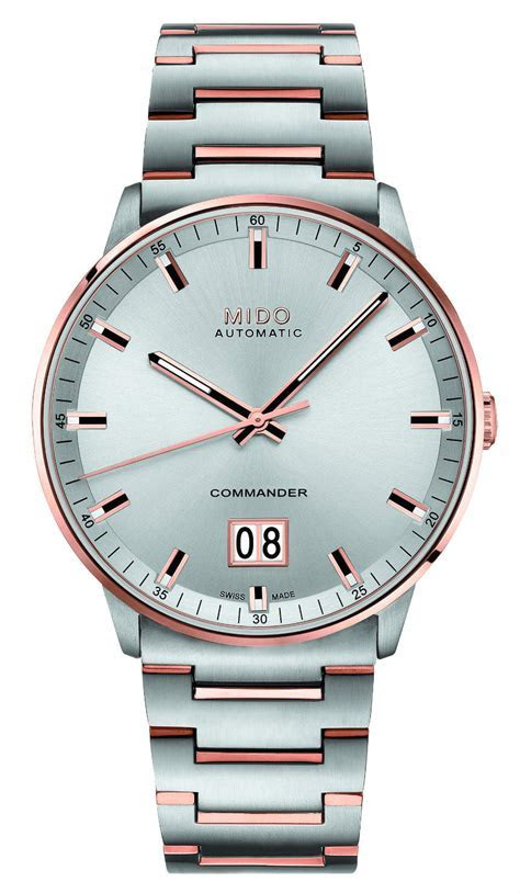 Mido Commander Big Date Watches For 100th Anniversary