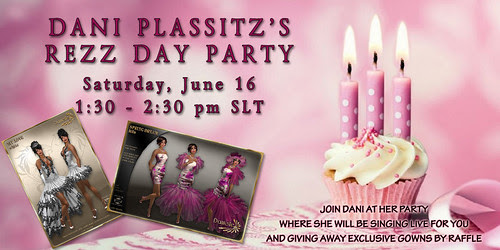 3rd Rezz Day Party Invitation