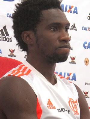 Negueba Coletiva Flamengo (Foto: Thales Soares)