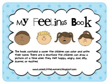 My Feelings Book - Activity