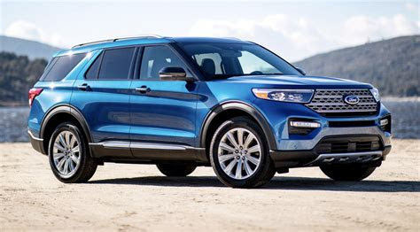 detroit auto show  ford explorer st  hybrid