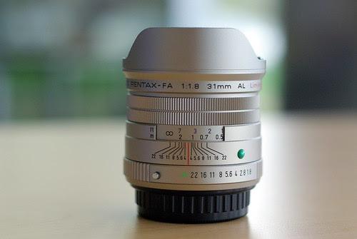 Pentax FA 31mm f/1.8 limited Test Shots