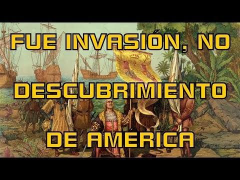 FUE INVASIÓN, NO DESCUBRIMIENTO DE AMÉRICA. Pablo Moctezuma Barragán