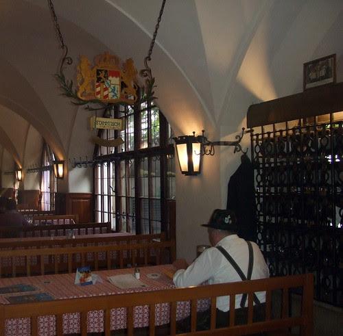 Stammtisch in the Hofbrauhaus