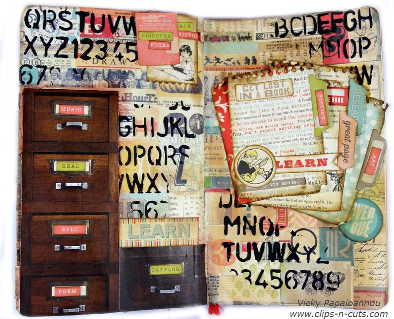art journal book