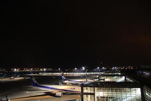 Planes preparing to lift off!