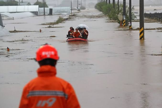 Rescue Workers Missing In South Korea Floods After Boats Capsize