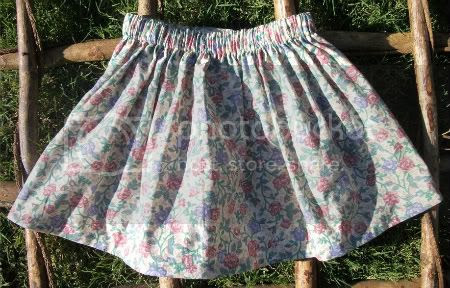 Girly Floral - size 4