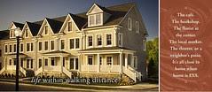 EYA Advertising, branding tagline: Life within Walking Distance (TM)