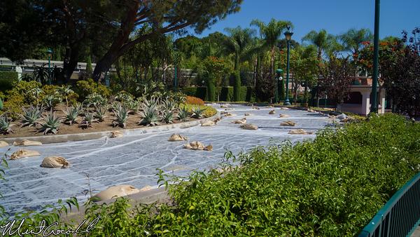 Disneyland Resort, Tram, Route, Asphalt