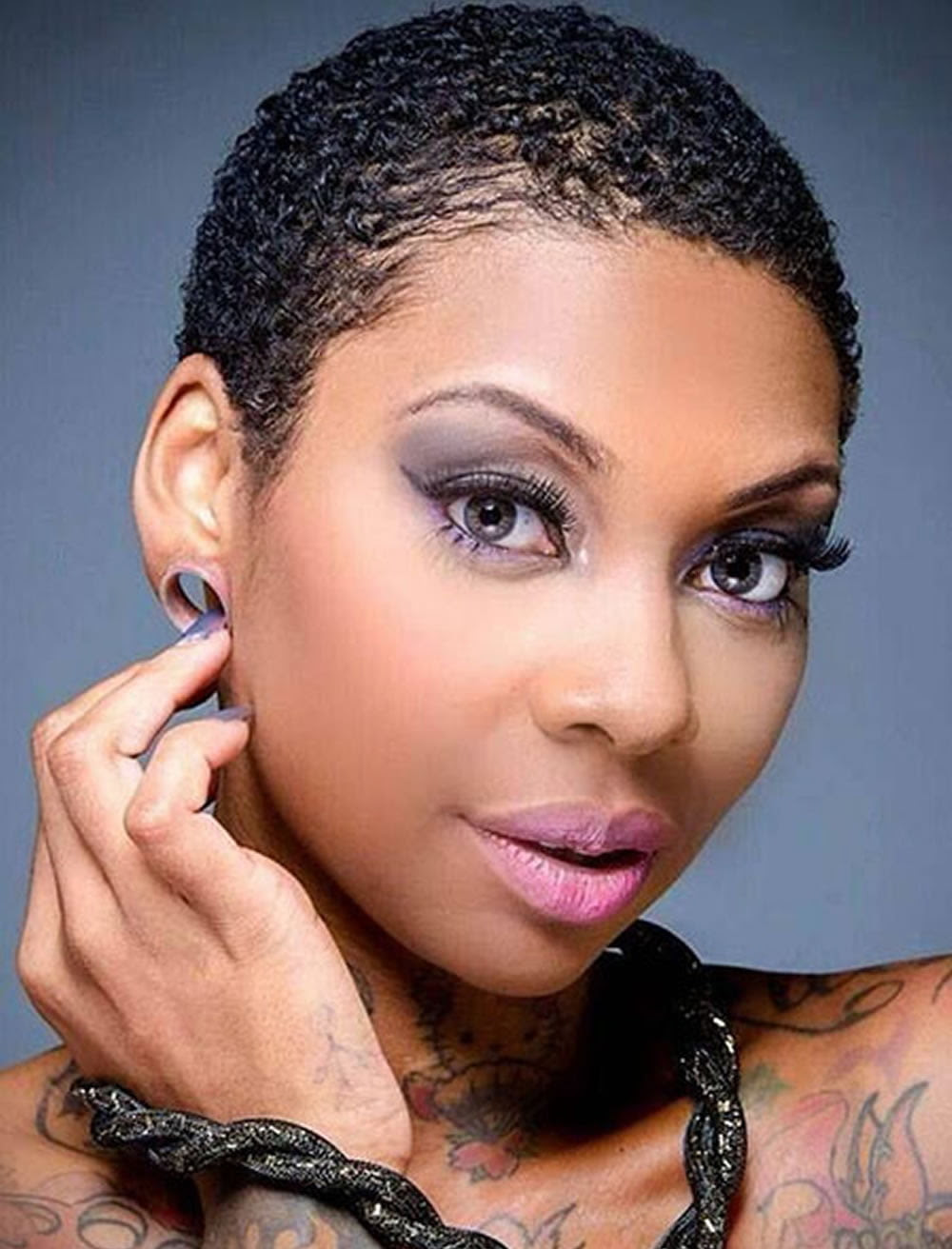2018 Pixie Haircuts For Black Women - 26 Coolest Black ...