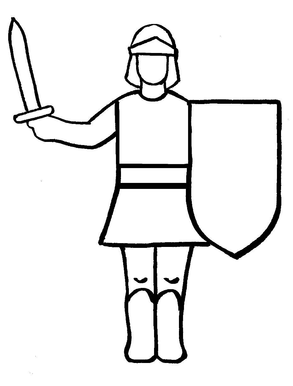 Cavalieri 4 Disegni Per Bambini Da Colorare
