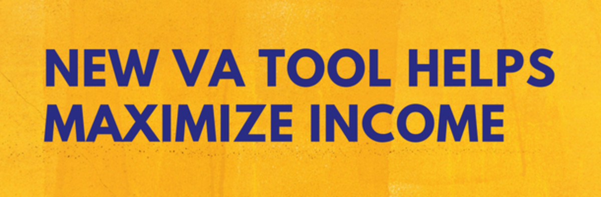 New VA Tool Helps Maximize Income