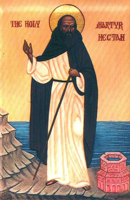 img ST. NECTAN of Hartland in Devon
