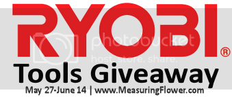 Ryobi Tools Giveaway, ends 6/14 $436 value