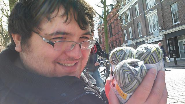 Regia sock yarn in York
