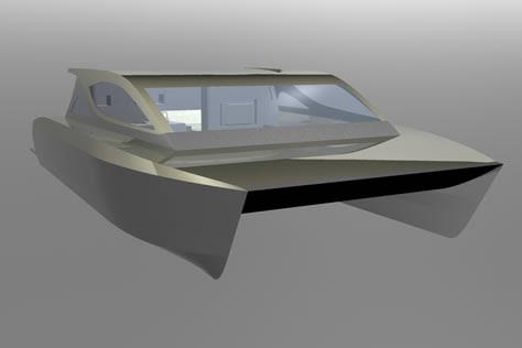 Build Simple Trailerable Catamaran Building Wooden DIY Wooden Boat