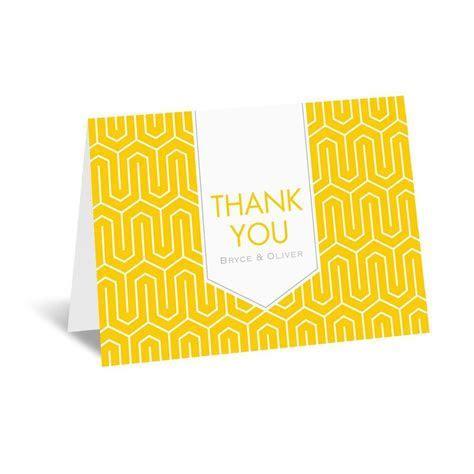 Modern Dream Thank You Card   Invitations By Dawn