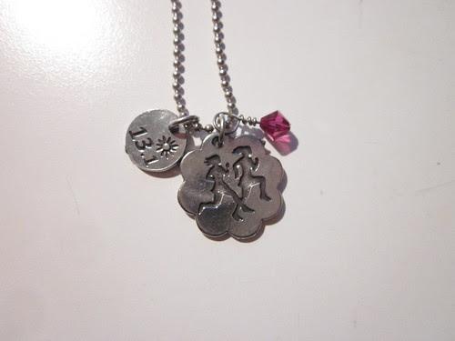 Girlfriend's Half Finisher necklace