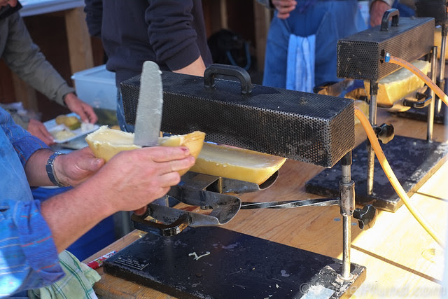 Traditional Swiss Raclette Cheese