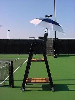 Black Tennis Pro's Referee