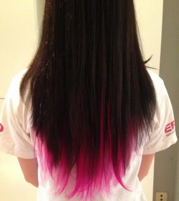 Hairwebde Haare Färben Dip Dye Hair Beispiele Anleitung