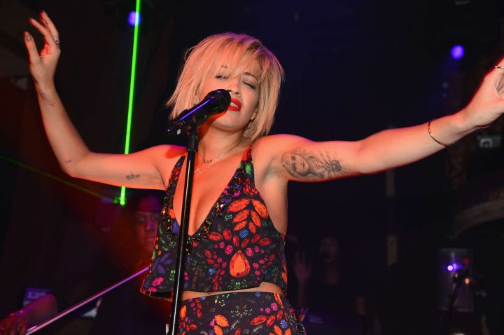 Rita Ora – Performing at The Box in NY -02