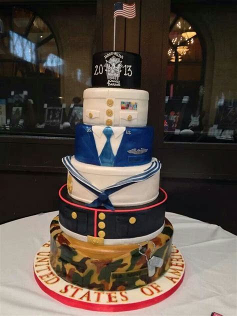 20 best images about NAVY RETIREMENT CAKES on Pinterest