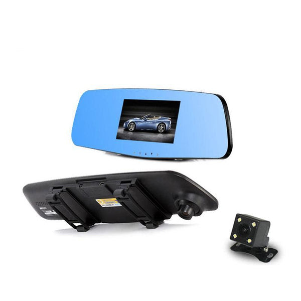 Jado D620 1080p Rearview Mirror Dash Cam With 43 Lcd Screen