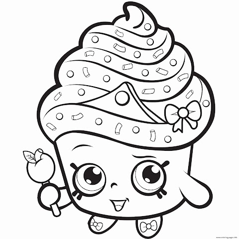 Get Inspired For Shopkins Coloring Book