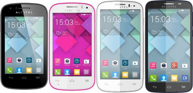 Alcatel intros four cheapandcheerful One Touch Pop smartphones