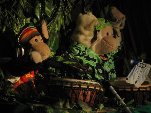 """Drumming Monkies"""