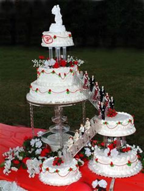 1000  images about fountain wedding cakes on Pinterest
