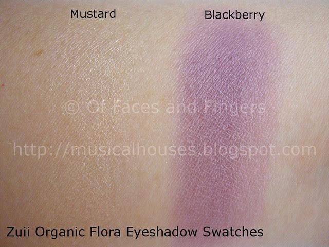 zuii organic eyeshadow swatch