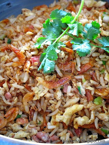 Sakura Ebi Fried Rice 2