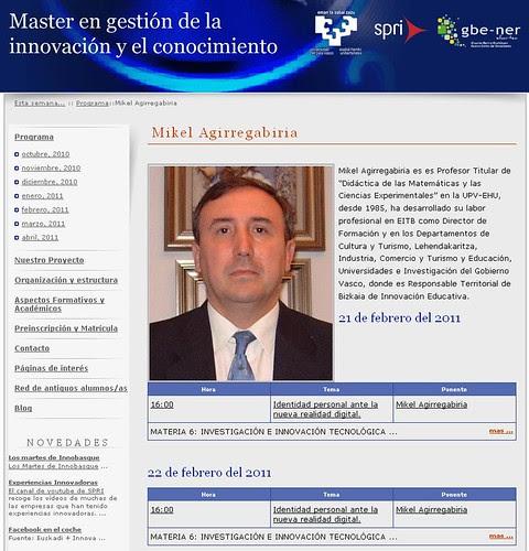 MasterGIC2011