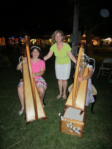 Sophia Denise and Elizabeth at Fair