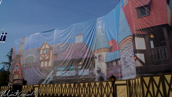 Disneyland Resort, Pinocchio, Facade, Refurbishment, Refurbish, Refurb