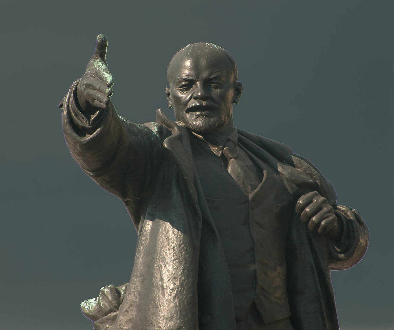 Image result for lenin statue moscow square