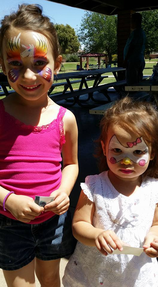 Girl Face Painting Designs Candy Face Painting