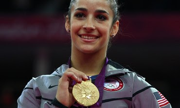 US Gymnast Raisman wins gold medal